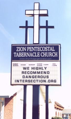 Another surprising church sign