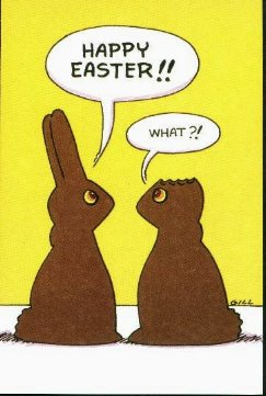 Happy Easter, What?