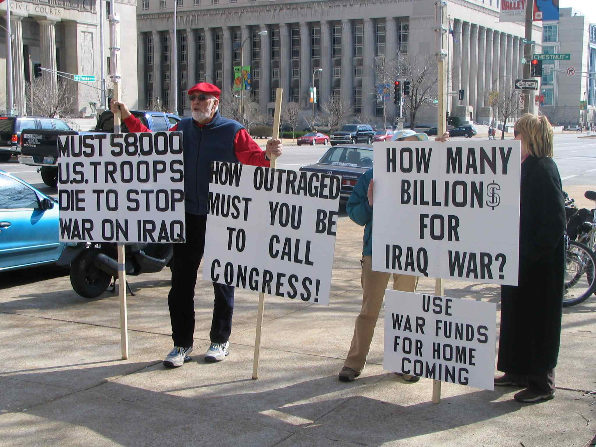 The Iraq invasion has cost more than one trillion dollars.  How much is one trillion?