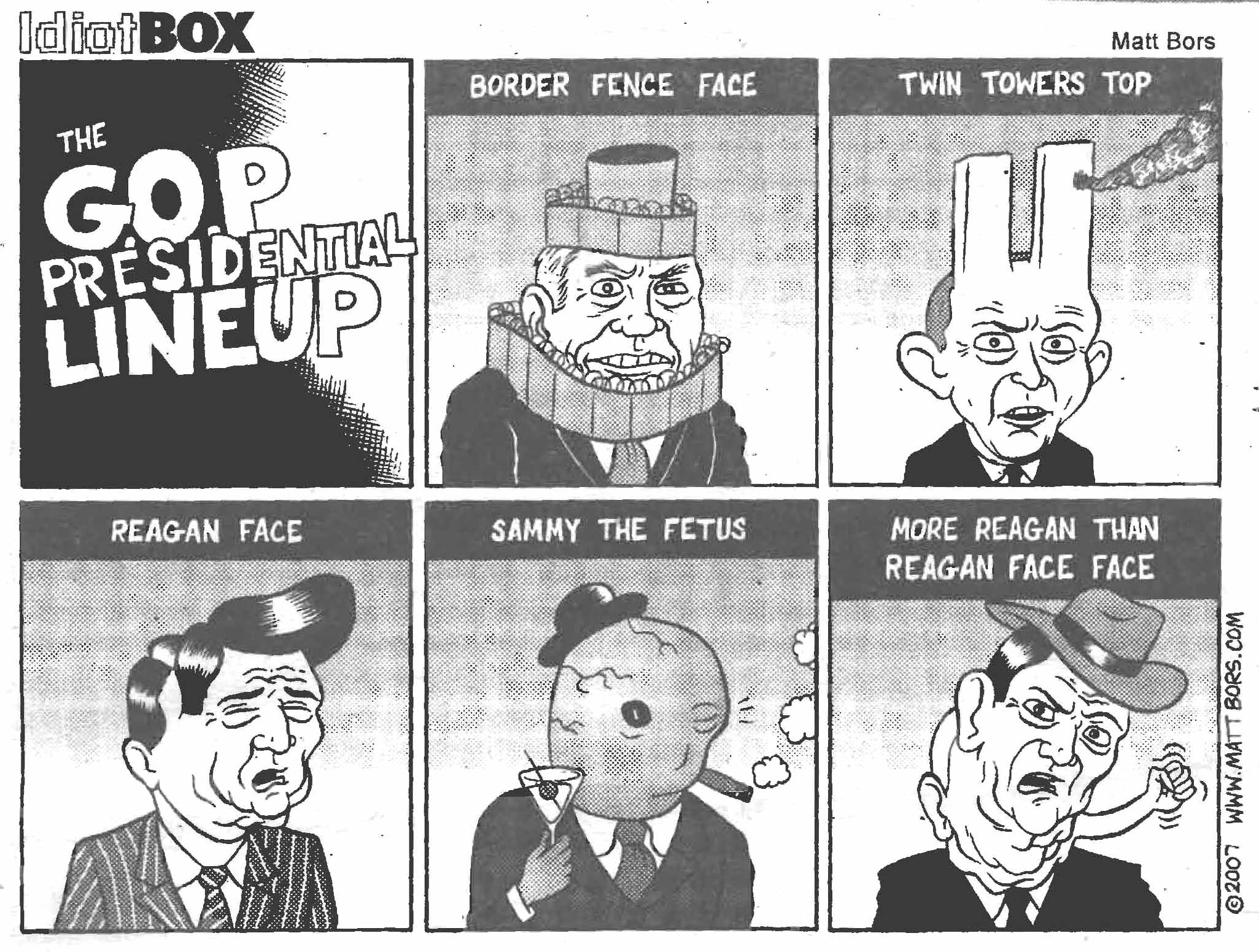 The GOP Presidential Line-up