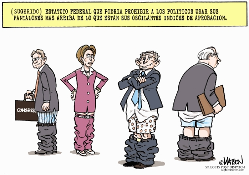 New trouser law for politicians