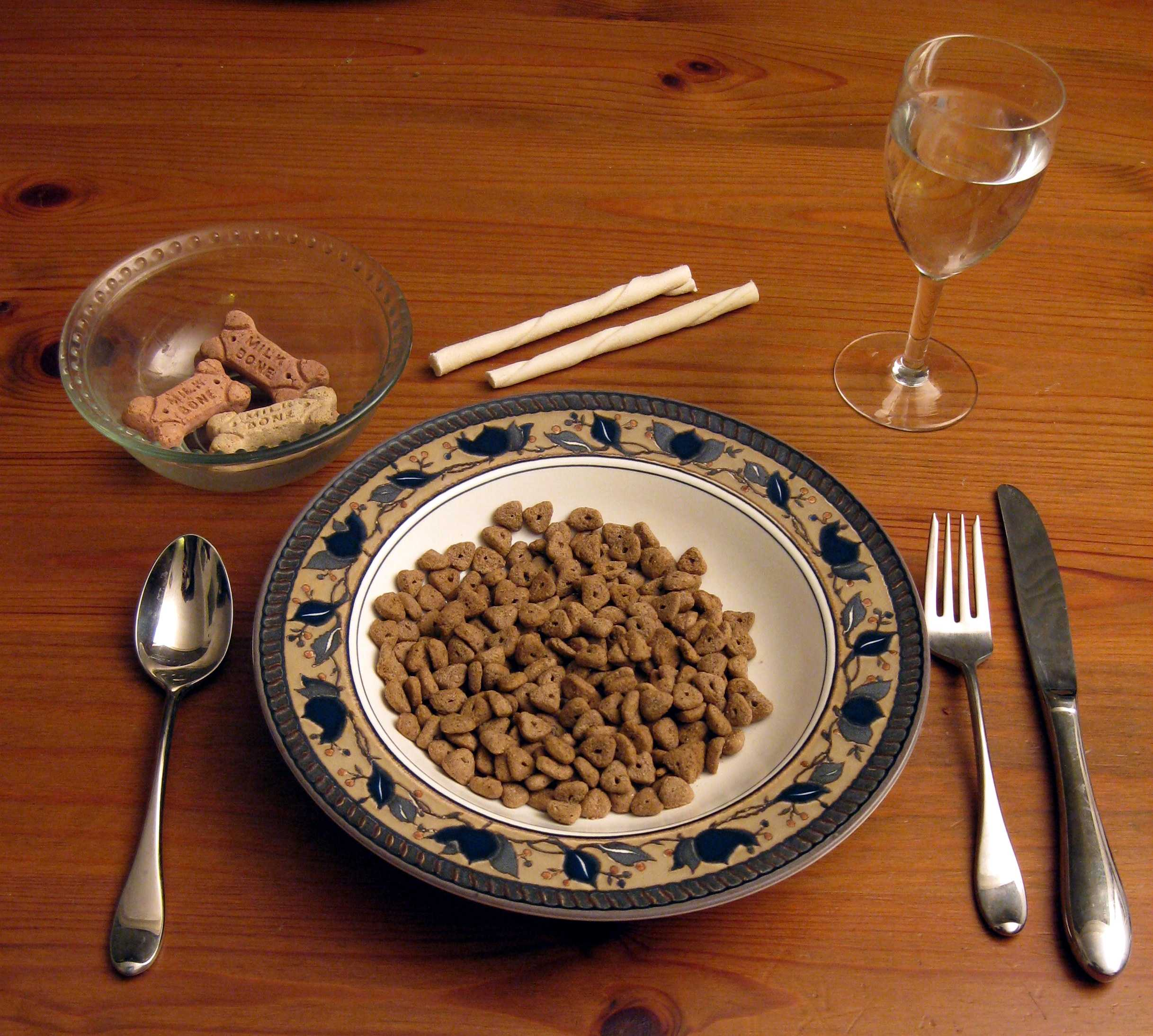 For $1 million, would you agree to eat nothing but dog food for one year?