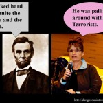 The Abraham Lincoln – Sarah Palin debate