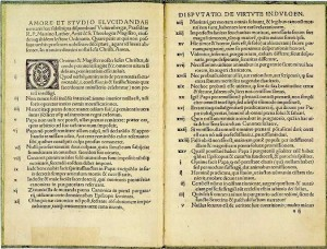 Martin Luther's 95 Theses (public domain)