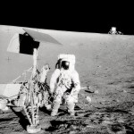 Conspiracy theorist convinces Neil Armstrong that moon landing was hoax
