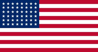 1912 Flag 48 stars