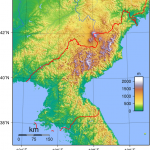 north_korea_topography