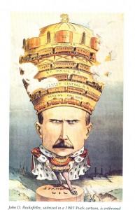 John D Rockefeller - Puck Magazine 1901
