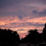 Lafayette Square Sunset