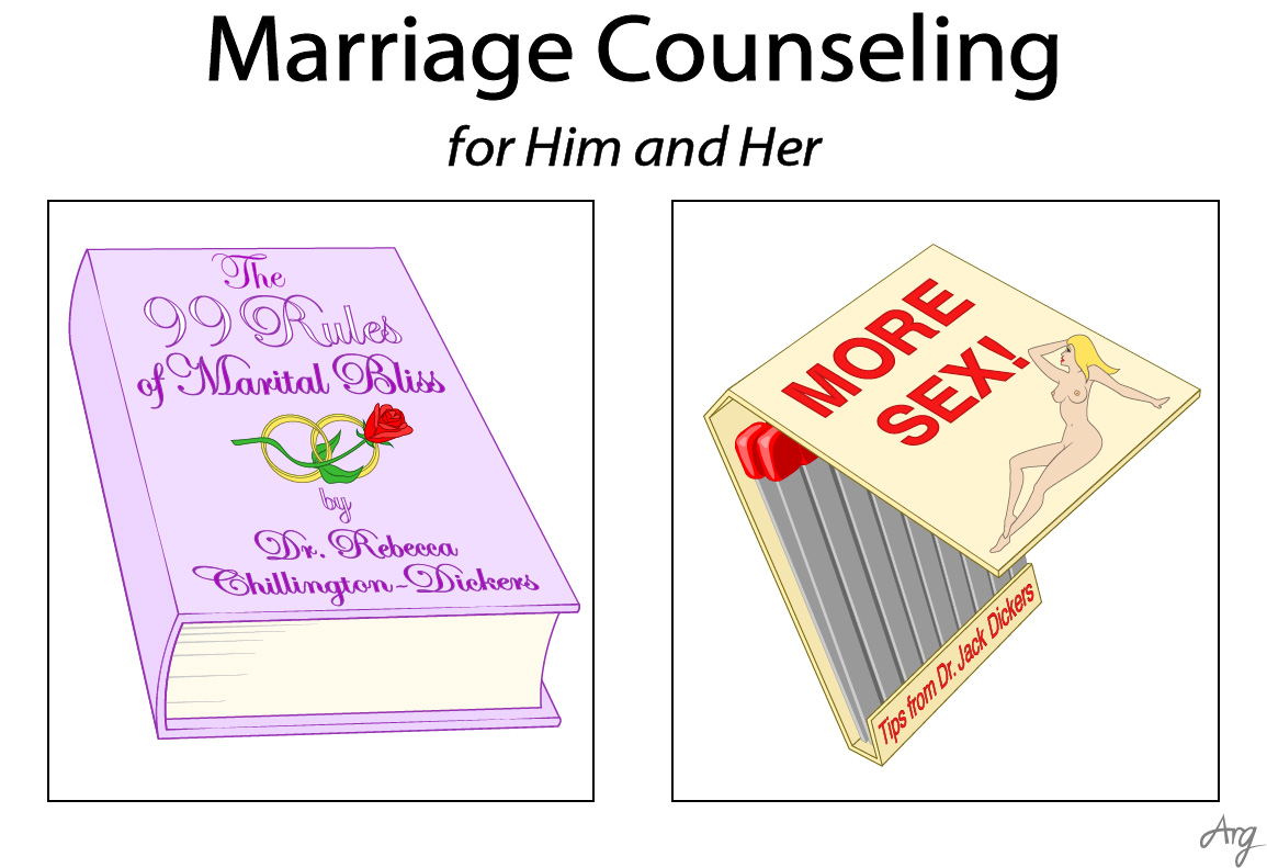 how to get into marriage counseling