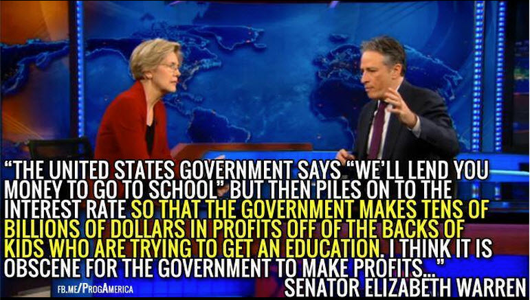Warren - college loans